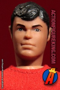 Fully articulated Mego 7-inch Aqualad action figure with removable fabric outfit.