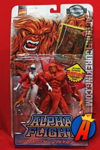 Alpha Flight 5-inch Scale SASQUATCH and VINDICATOR action figures from TOYBIZ.