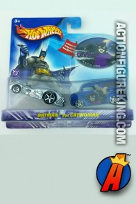 Batman vs. Catwoman die-cast vehicles from Hot Wheels circa 2003.