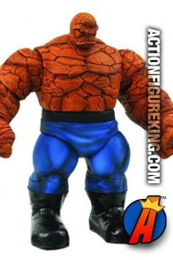 Massive Marvel Select 7-inch scale Fantastic Four Thing action figure from Diamond Select Toys.