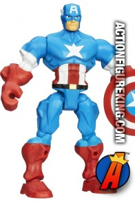 From the pages of the Avengers comes this fully articulated 6-Inch Marvel Super Hero Mashers Captain America action figure.