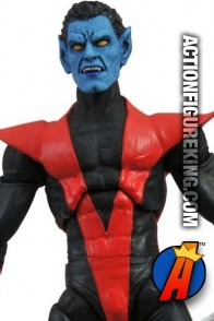 Marvel Select 7-inch Nightcrawler action figure from Diamond Select Toys.