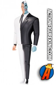 Full view of this Two-Face animated figure from DC Collectibles.