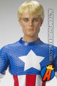 Rare Captain America 17-inch dressed Tonner figure.