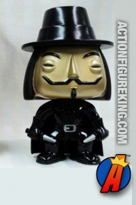 Funko Pop! Movies San Diego Comicon 2012 Metallic Exclusive V for Vendetta figure.