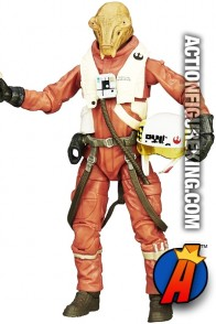 STAR WARS 6-Inch Scale Black Series X-WING PILOT ASTY Figure from HASBRO.