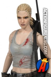 Walking Dead 5-inch scale Comic Book Series 3 Andrea figure from McFarlane Toys.