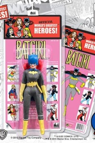 Following in the steps of Mego is this Retro Kresge Batgirl Action Figure.
