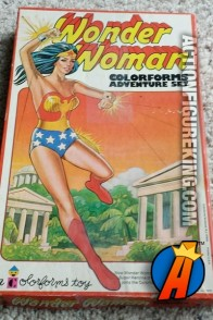 Wonder Woman Colorforms Adventure Set circa 1976.