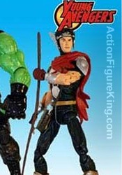 Marvel Legends Young Avengers Gift Set Asgardian action figure from Toybiz.