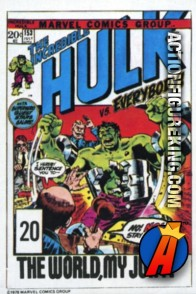 20 of 24 from the 1978 Drake's Cakes Hulk comics cover series.