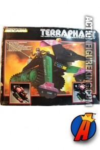 3.75-inch scale Micronauts Terraphant action vehicle from Mego