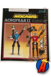 Mego Micronauts 3.75-inch scale Acroyear II action figure.