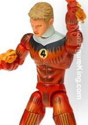 Marvel Legends Fantastic Four Gift Set 6 inch Human Torch action figure from Toybiz.