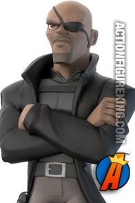 Disney Infinity 2.0 Marvel Super Heroes Nick Fury figure.