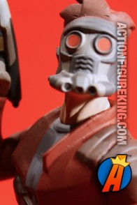Detailed view of this GOTG Star-Lord figure from Disney Infinity 2.0.
