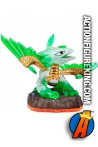 Skylanders Giants variant Jade Flashwing figure from Activision.