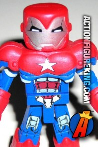 From the pages of the Dark Avengers  comes this Harry Osborn as Iron Patriot.