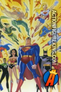 Mattel Justice League Animated 24-piece jigsaw puzzle.