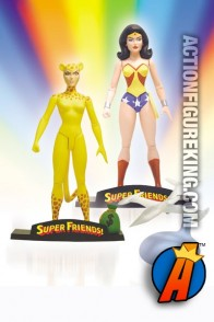 Super Friends two-pack of Wonder Woman and Cheetah action figures from DC Direct.