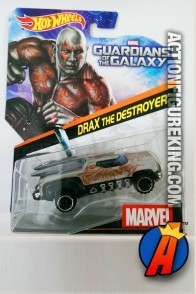 Guardians of the Galaxy Drax the Destroyer die-cast car from Hot Wheels.