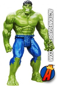 HASBRO Titan Hero Series 12-Inch Scale Incredible HULK figure.