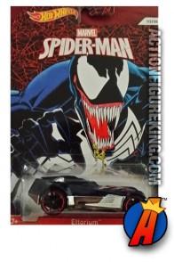 Spider-Man Venom Ettorium die-cast vehicle from Hot Wheels.