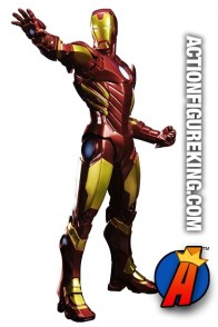 Marvel Kotobukiya Avengers Now! Variant Red IRON MAN ArtFX Figure.