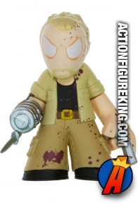 The Walking Dead Mystery Minis variant bloody Merle Dixon bobblehead figure from Funko.