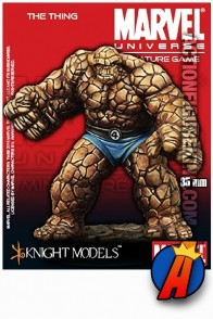 Marvel Universe 35mm THE THING Metal Figure from Knight Models.