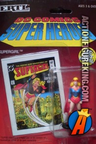 2-inch DC Comics Super-Heroes Die-Cast Metal Supergirl figure.