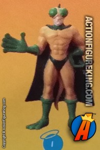 3-inch collectible Crusading Chameleon figure from The TICK and Bandai.