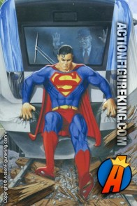 Fusion Toys 500-piece Superman Train jigsaw puzzle.