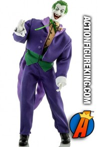 DC COMICS 14-INCH JOKER ACTION FIGURE with Jacket and Printed shirt from MEGO circa 2019