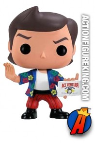 Funko Pop! Movies Ace Ventura vinyl bobblehead figure.