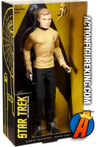 Mattel present this STAR TREK 50th Anniverary CAPTAIN KIRK action figure.