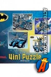 Batman 4in1 Series 4 Puzzles from Funskool.