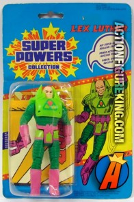 Vintage Kenner Super Powers Collection Lex Luthor action figure.