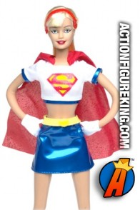DC Comics presents this Barbie Famous Friends Supergirl figure.