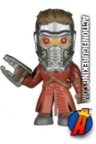 Funko Marvel GOTG Mystery Minis Star Lord variant figure.