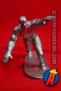 SILVER SURFER PVC Figure on surfboard circa 1990.
