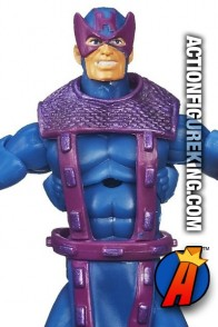 From the Avengers comic book comes this Marvel Universe 3.75 inch Dark Hawkeye figure.