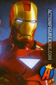 Nice photo-realistic artwork from this Iron Man 2 100-piece jigsaw puzzle.