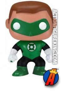 Funko Pop! Heroes Hal Jordan Green Lantern figure.