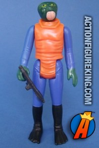 3.75-inch Star Wars WALRUS MAN action figure from Kenner circa 1978.