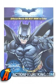 2009 Batman The Dark Knight Coloring Book from Creative Edge.