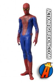 12 inch Medicom Real Action Heroes fully articulated Amazing Spider-Man movie action figure with authentic cloth outfit.