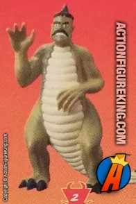 3-inch collectible Dinosaur Neil figure from The TICK and Bandai.