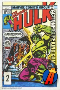 2 of 24 from the 1978 Drake's Cakes Hulk comics cover series.