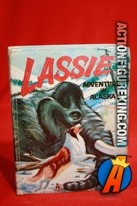Lassie: Adventure in Alaska A Big Little Book from Whitman.